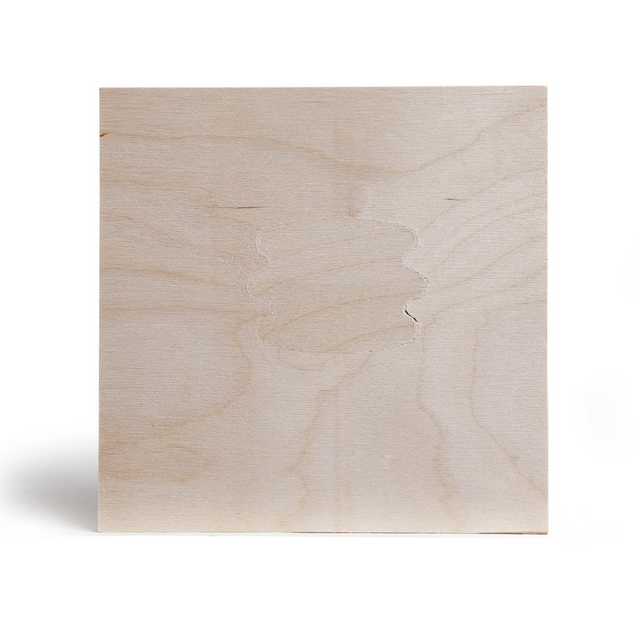 Click to enlarge picture of the face of BB Grade Birch Plywood