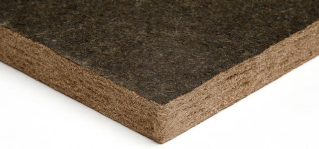 Close up corner shot of softboard